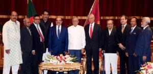 Bangladesh Bar Council Member Meets President